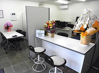 HOME'S東浦和店 内観